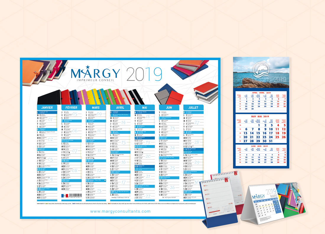 advertising calendars Margy printer Consultancy