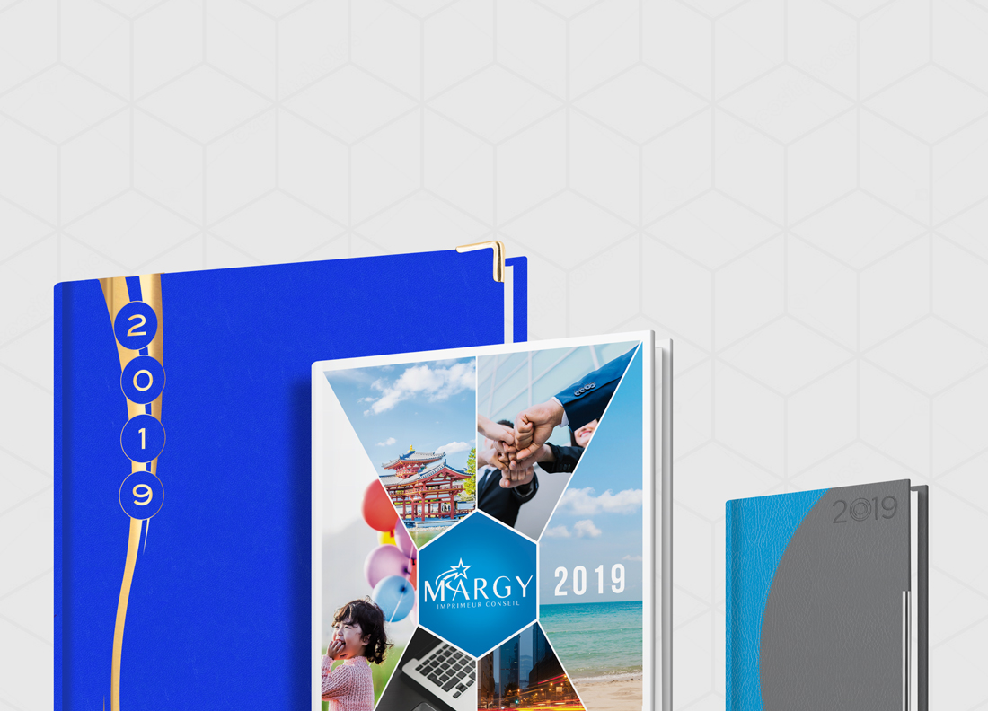 Advertising diaries Margy Consultants Printer consultancy