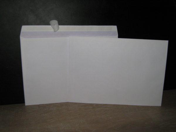 Enveloppes auto-adhésives C4-229X324 Blanc 90g