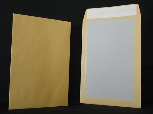 Pochettes dos-carton 520X670 Kraft 120g