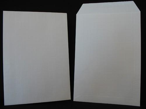 Pochettes kraft armé blanc 24 - 260X330 Kraft Armé 130g