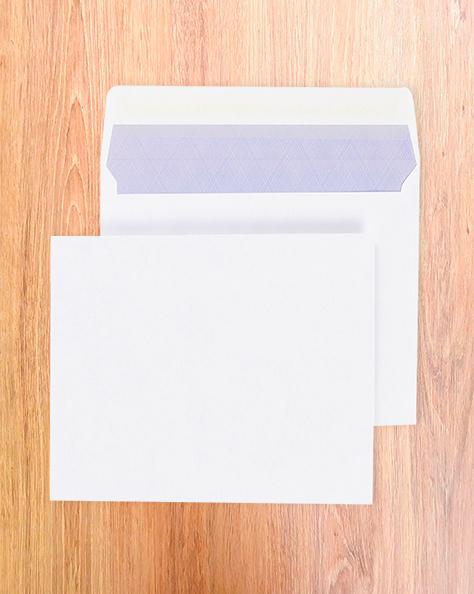 Enveloppes mécanisables 250X250 Blanc 90g
