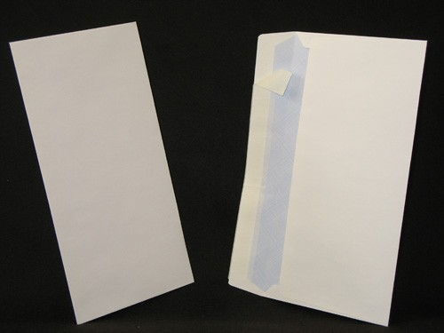 Enveloppes auto-adhésives DL-110x220 Blanc 80g