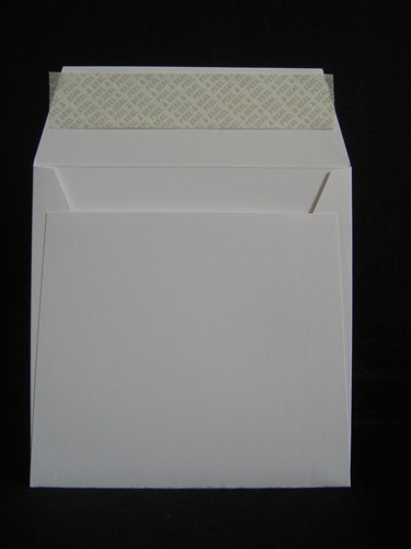 Pochettes Post Marque 125x125 Carton blanc 180g